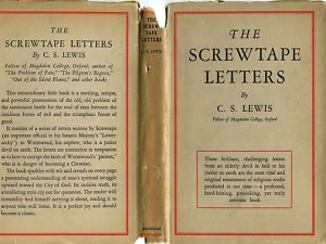 cs lewis 1st edition of the screwtape letters