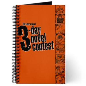3 Day Novel Contest journal