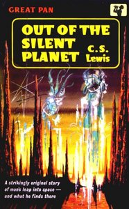 Out Of The Silent Planet by C.S. Lewis 50s