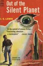 Out Of The Silent Planet by C.S. Lewis avon 1940s