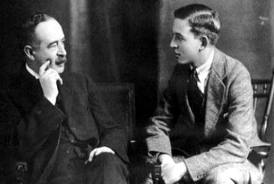 CS Lewis and his Father Albert Lewis