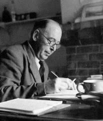 C.S. Lewis writing
