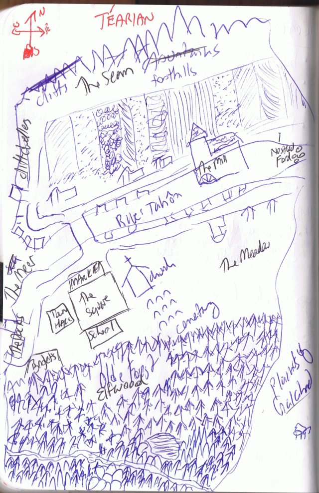 Tearian Map