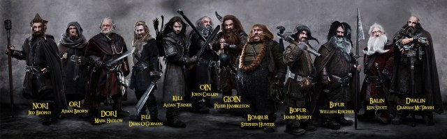 The Hobbit 13 Dwarves named