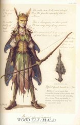 woodelf from spiderwick field guide