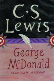Goerge McDonald by CS Lewis anthology