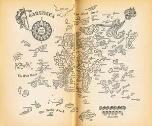 earthsea by ursula k le guin map