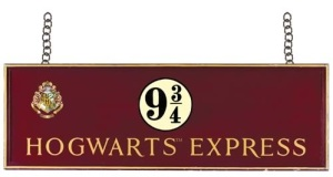 Hogwarts Platform 9 three quarters