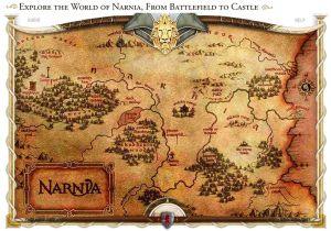 Interactive Narnia Map