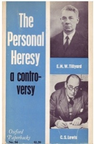 Personal Heresy by CS Lewis 60s