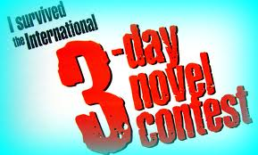 3 Day Novel Contest survival