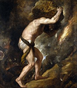 Myth of Sisyphus by Titan