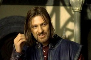 boromir at the council of elrond
