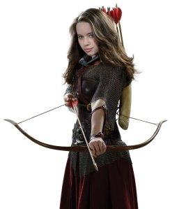 Susan Narnia bow_battle Anna Popplewell