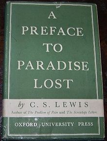 cs lewis preface to paradise lost 1942
