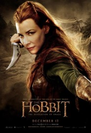 Evangeline Lilly Tauriel desolation of smaug poster