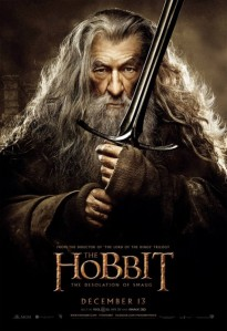ian mckellen gandalf desolation of smaug poster