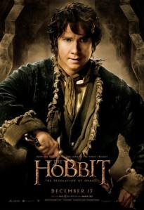 martin freeman bilbo desolation of smaug poster