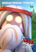 lego movie-poster morgan freeman vitruvius