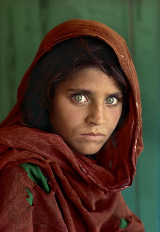 afghan girl steve mccurry