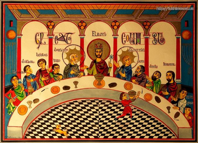 The Council of Elrond (I think?)