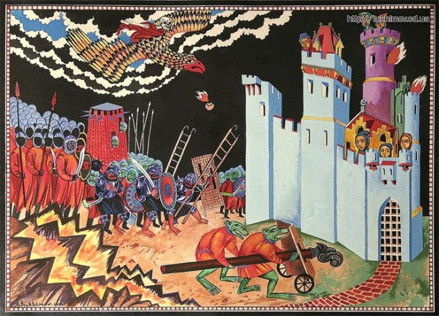 The Siege of Gondor and Grond