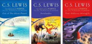 space trilogy covers cs lewis