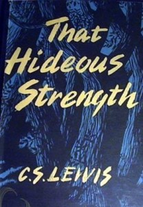 That Hideous Strength CS Lewis old