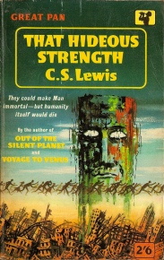 that hideous strength CS Lewis Panbooks 1950s