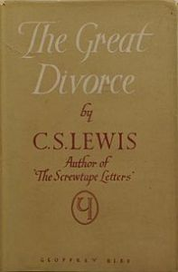 cs lewis the great divorce 1st ed