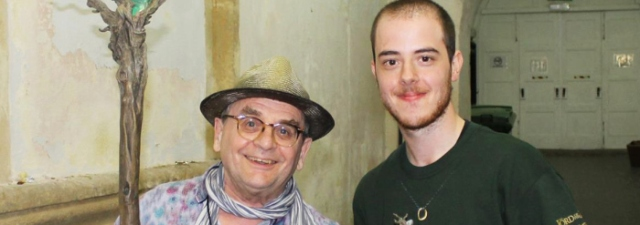 Sylvester and me (backstage) header