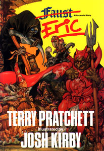 terry pratchett eric book cover not subtle