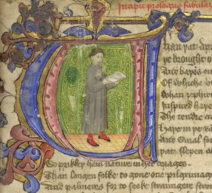 chaucer initial text