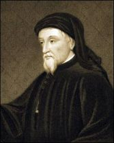 chaucer painting