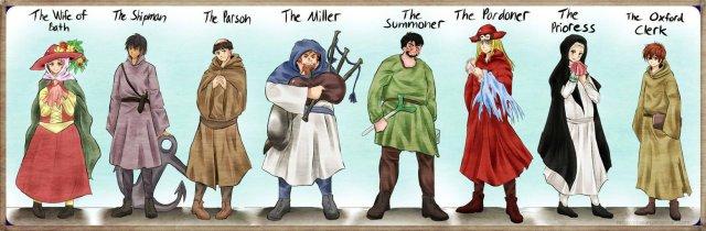 the_canterbury_tales_by_eljiasan-d4mmjo pilgrims