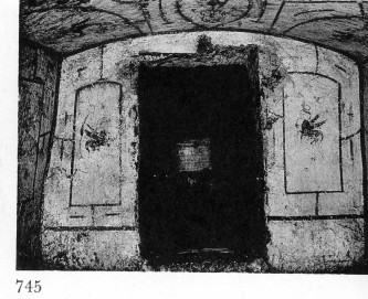 Jewish Catacomb Vigna Randanini in Rome picture from E. R. Goodenough