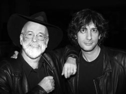 Neil Gaiman and Terry Pratchett
