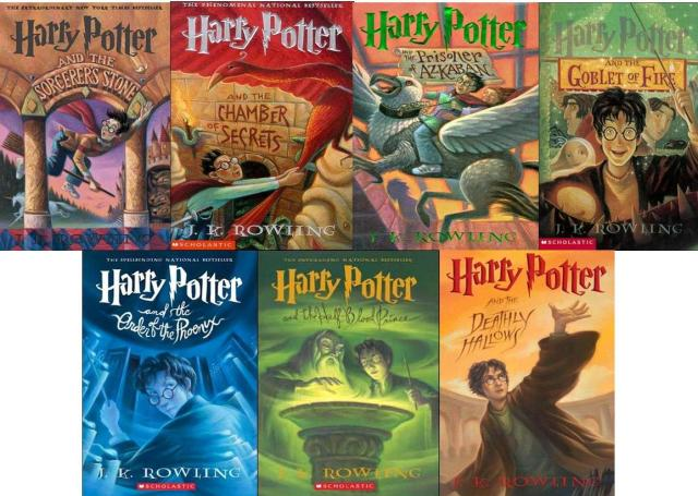 Harry Potter series US