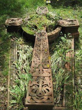 old celtic cross moss