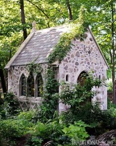 old stone church