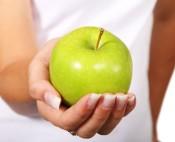 apple hand beauty art