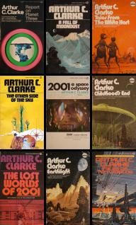 arthur_c_clarke classic book covers