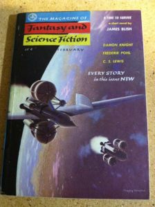 The Magazine of Fantasy and Science Fiction CS Lewis story