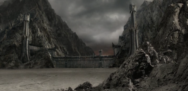 Black_gate of mordor lord of the rings