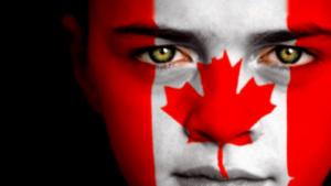 Canada-Day facepaint