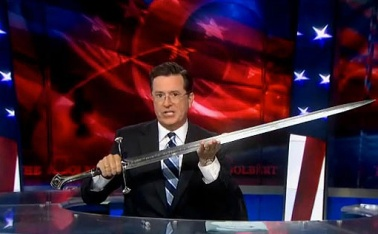 colbert is a tolkien nerd