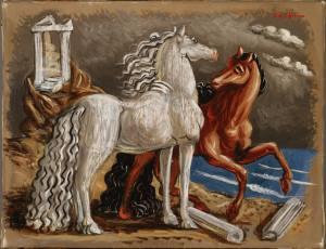 Giorgio de Chirico, Horses, c.1928