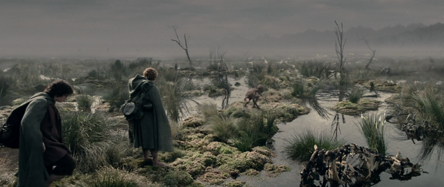 lord of the rings dead marshes