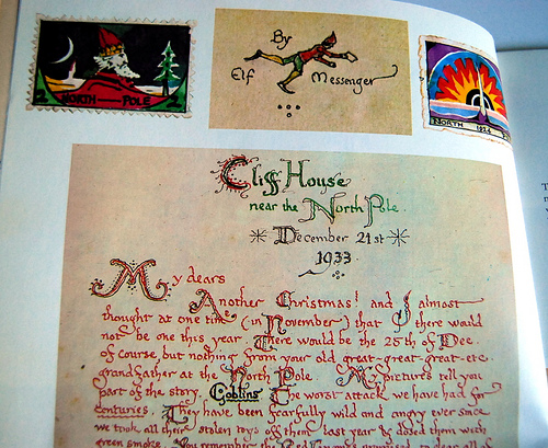 Tolkien Father Christmas Letters forematter