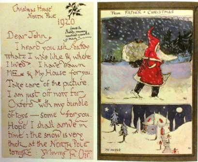 Christmas with jrr tolkien the father christmas letters a tolkiens father christmas letters page spiritdancerdesigns Gallery